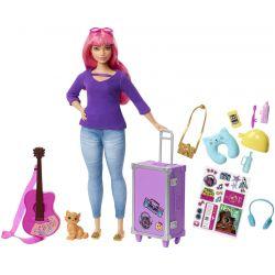 Barbie Daisy Travel Doll & Accessoires FWV26