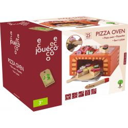 Jouéco® - Pizzaugn i trä, 25 delar