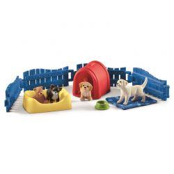 Schleich Puppy Pen Hundvalpar 42480