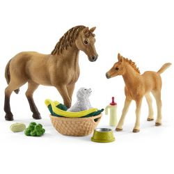 Schleich Hästklubb Saras smådjursavdelning 42432