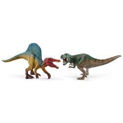 Schleich Spinosaurus och Tyrannosaurus Rex 41455
