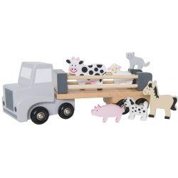 Jabadabado Leksakslastbil med djur