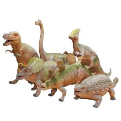 Dinosaurier 6 st. 30-40 cm