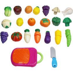 Leksaksmat Grönsaker 42 delar Play Fun