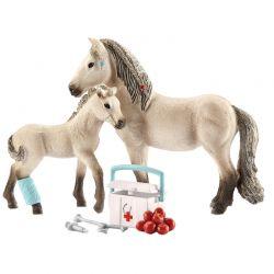 Schleich Hästklubb Förstahjälpensats Islandshästar 42430