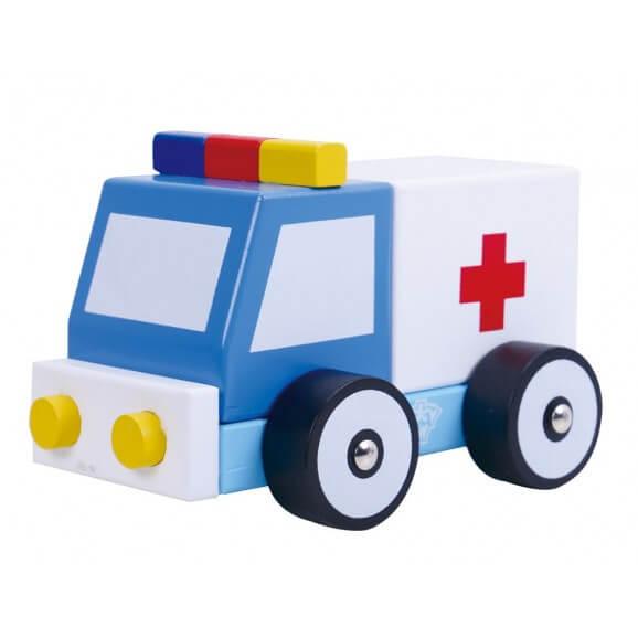 Ambulans i trä