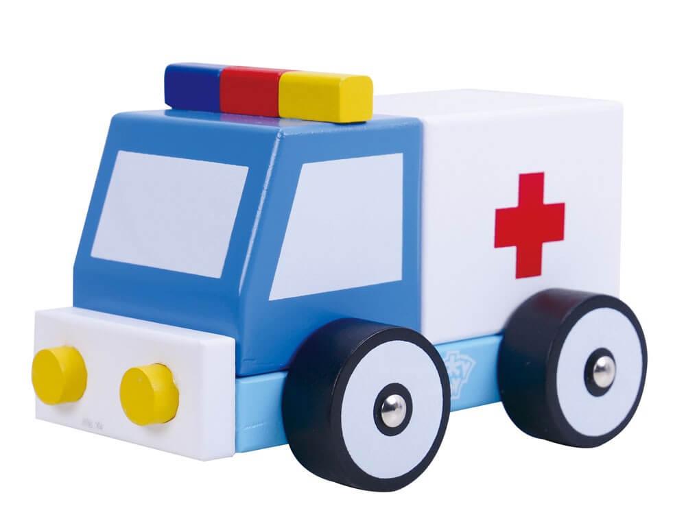 Läs mer om Ambulans i trä