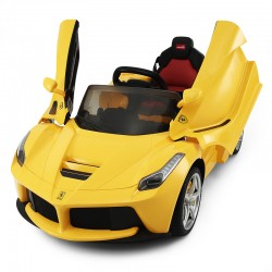 Ferrari LaFerrari Elbil Gul