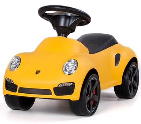 Läs mer om Porsche 911 Sparkbil, Gul