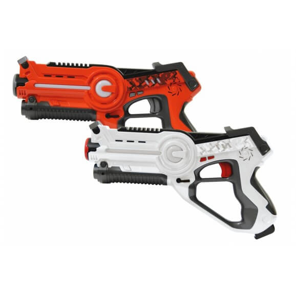 Impulse Laser Battle Set orange- white
