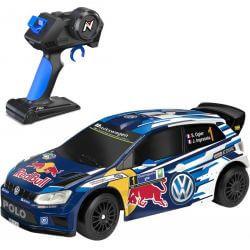 Nikko Volkswagen Polo WRC Radiostyrd Bil - 2,4 Ghz