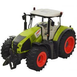 Radiostyrd Traktor CLAAS Axion 870 med Cargo 9600 vagn 1:16 - 2,4 Ghz