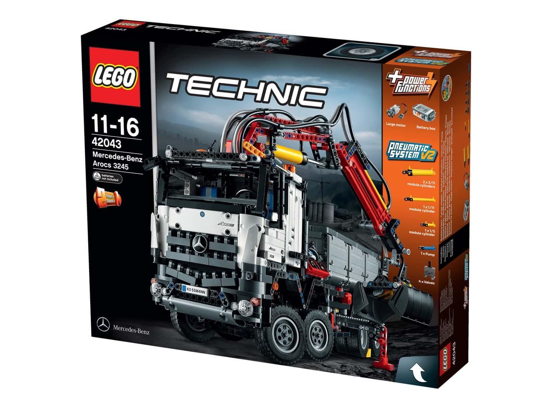 Läs mer om LEGO Technic 42043 Mercedes-Benz Arocs 3245