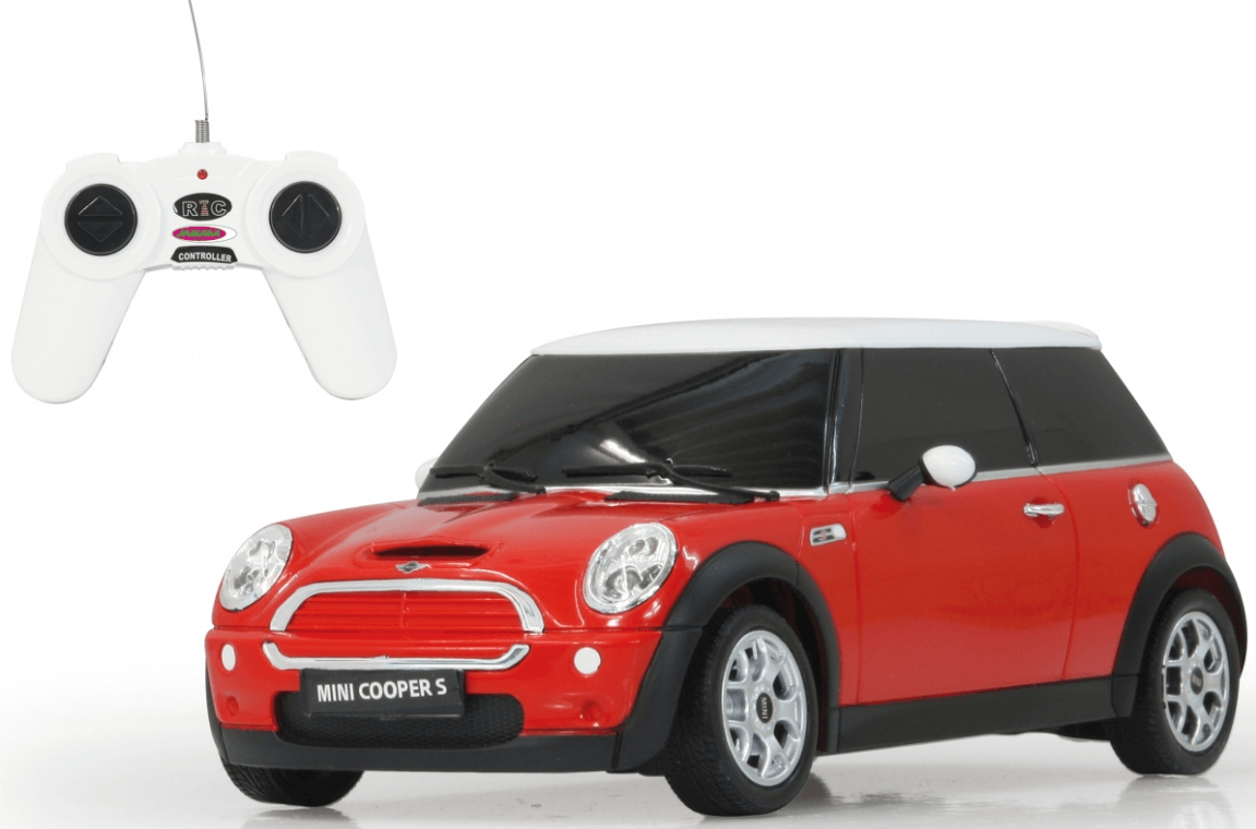 Radiostyrd Bil Mini Cooper S Röd Jamara 1:24 - 40 MHz