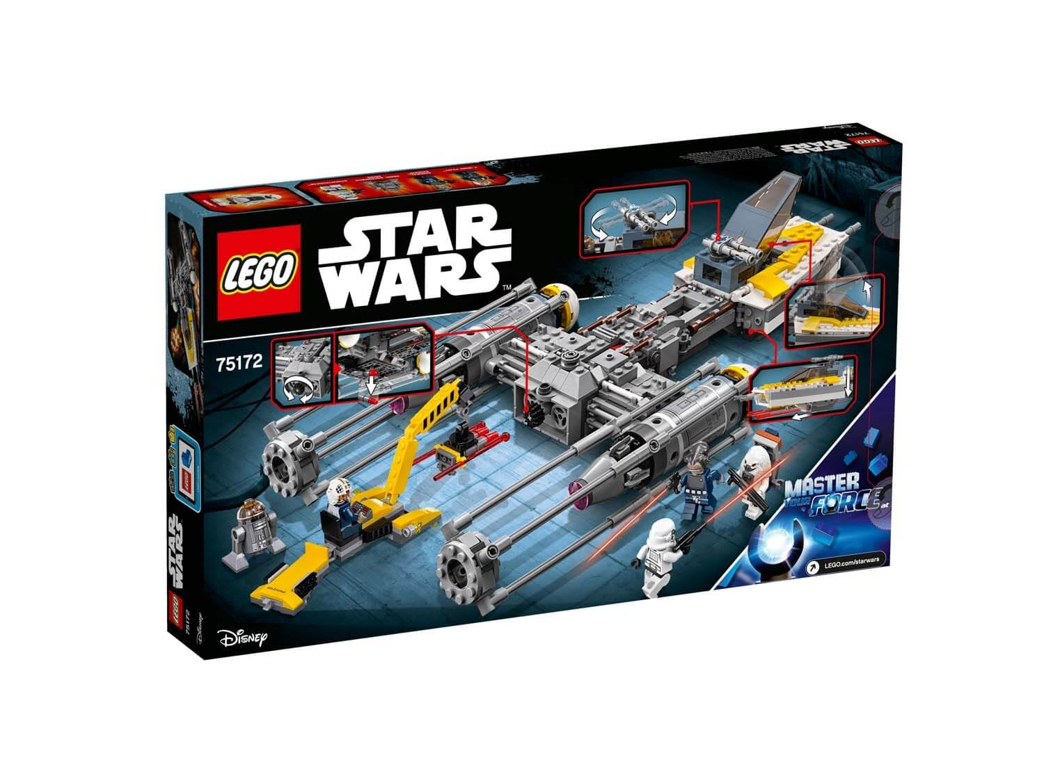Läs mer om LEGO Star Wars 75172 Y-Wing Starfighter™