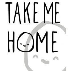 Take Me Home Kattunge Gosedjur 15,5 cm