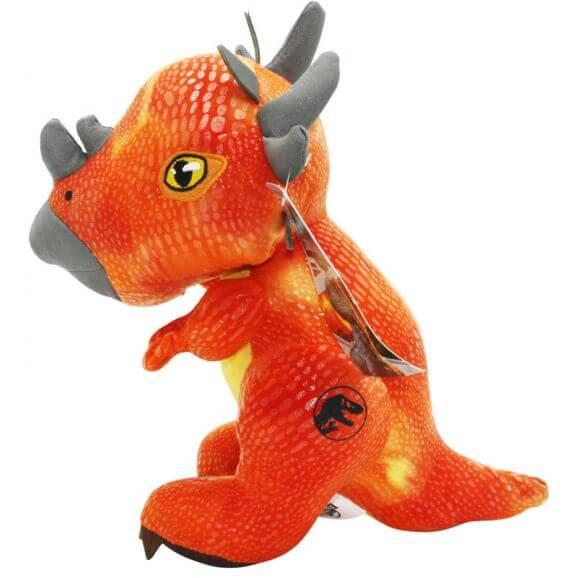 Jurassic World Gosedjur Orange Dinosaurie - 21 cm