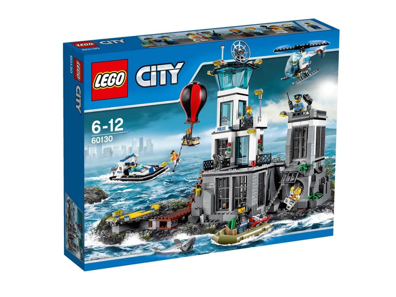 Läs mer om LEGO City 60130 Fängelseön