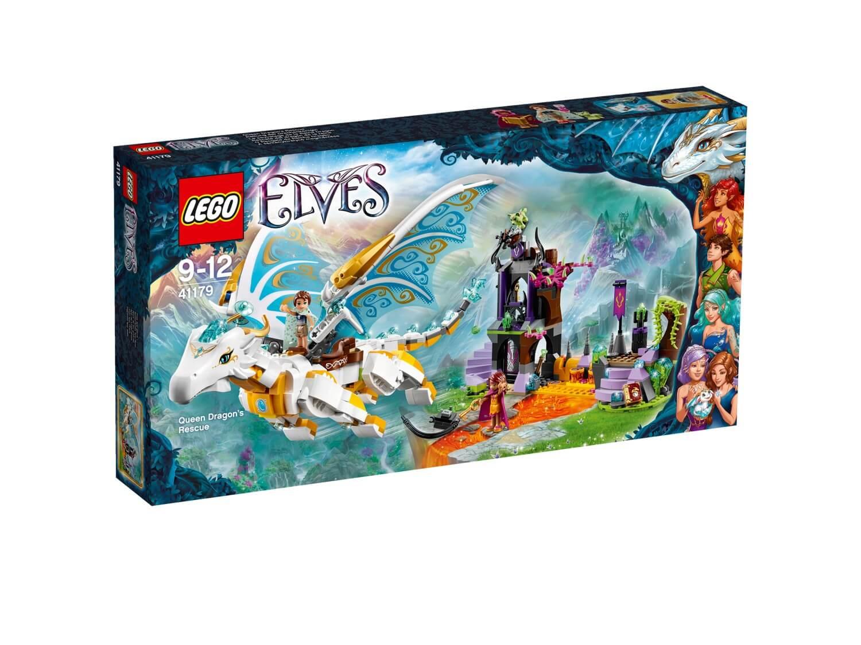 Läs mer om LEGO Elves 41179 Drottningdrakens räddning