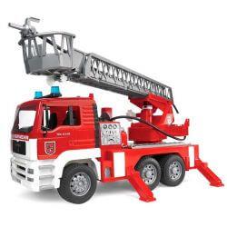 Bruder Brandbil Lastbil MAN med Vattenpump 02771