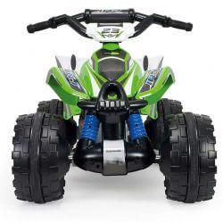 Elfyrhjuling ATV Kawasaki 12 volt - Injusa