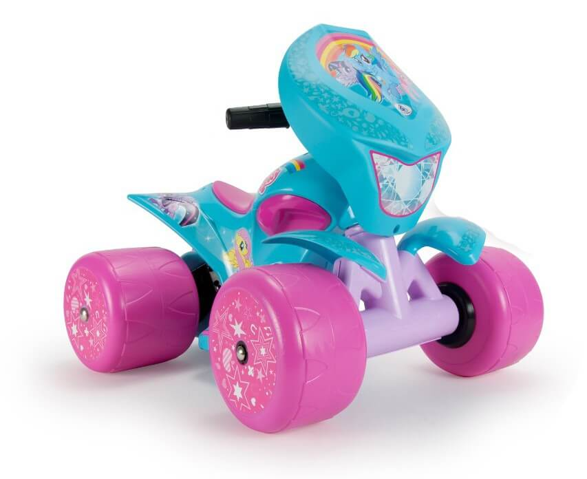 Läs mer om Fyrhjuling My Little Pony 6V