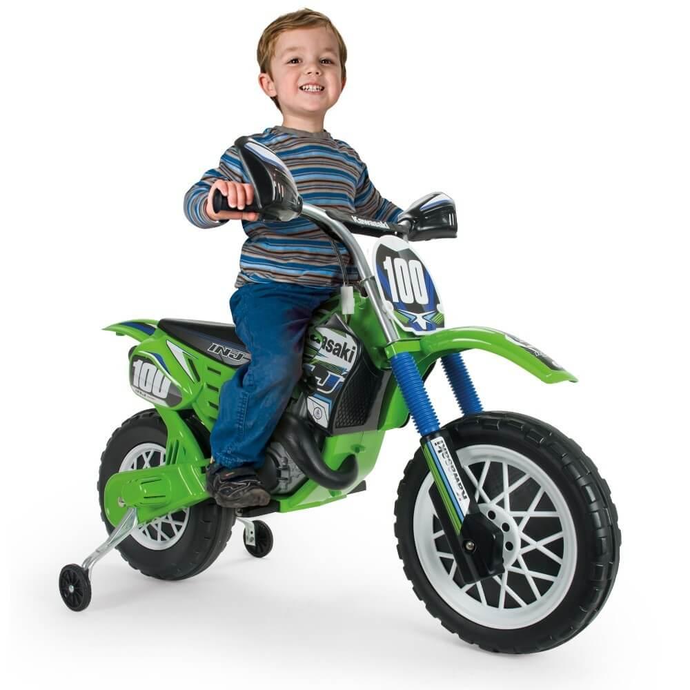 Läs mer om Motocross Kawasaki 6V