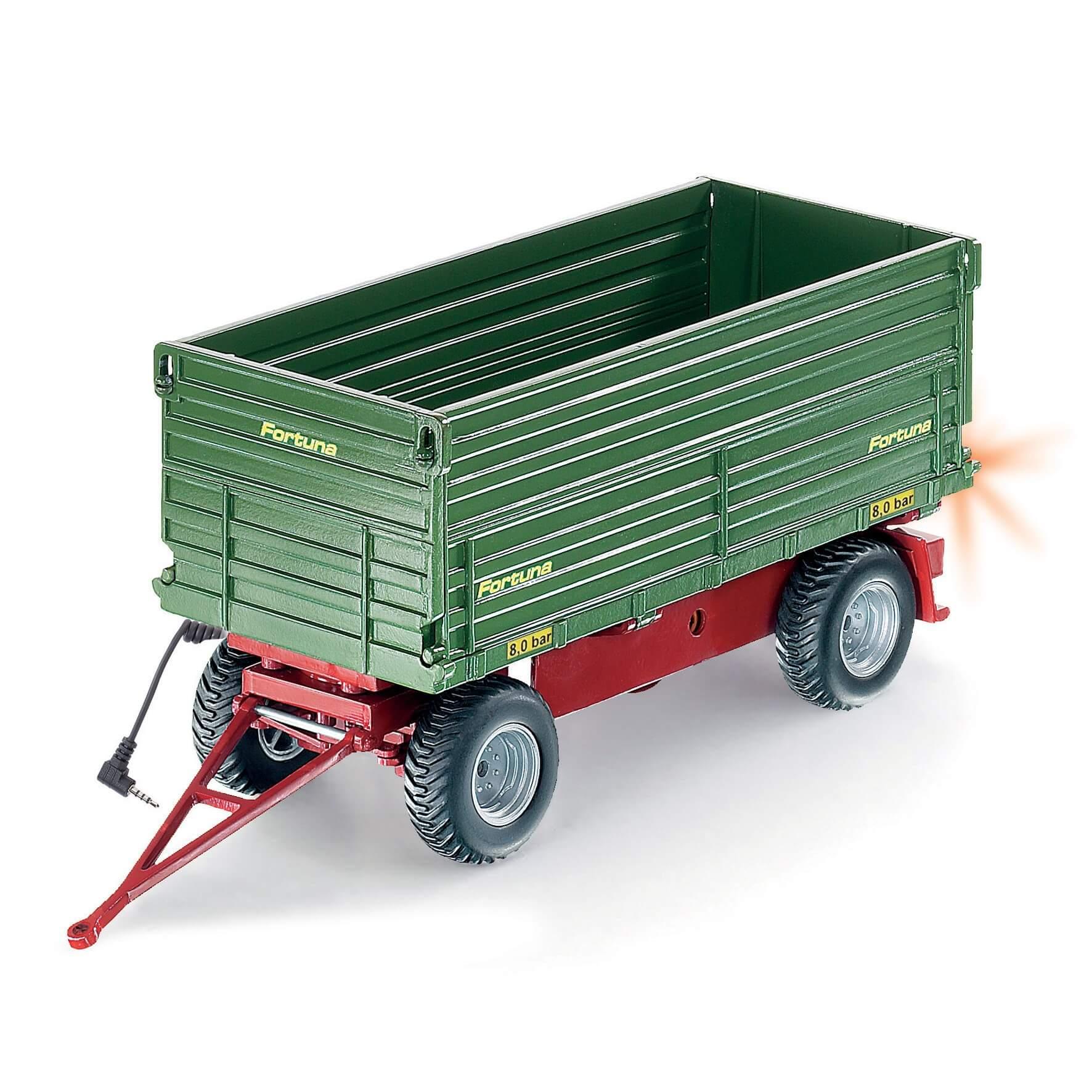 Läs mer om Radiostyrd Traktorvagn Tippsläp