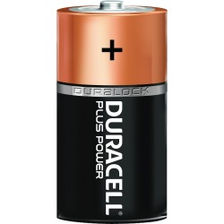 C, Duracell Batterier Plus Power. 2 st.