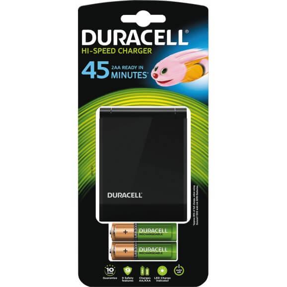 AA och AAA, Batteriladdare Duracell