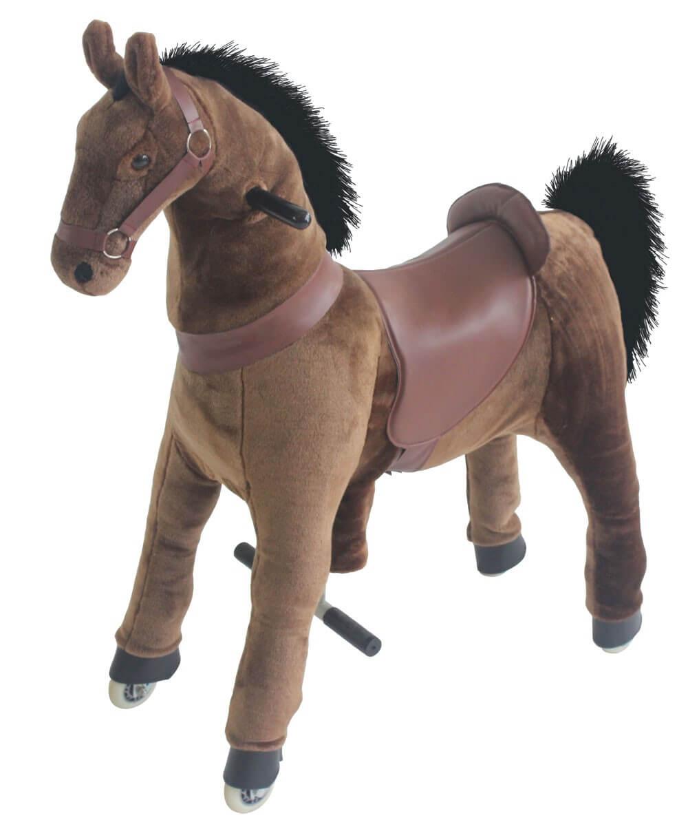 Hästen Spirit. Höjd 85 cm.
