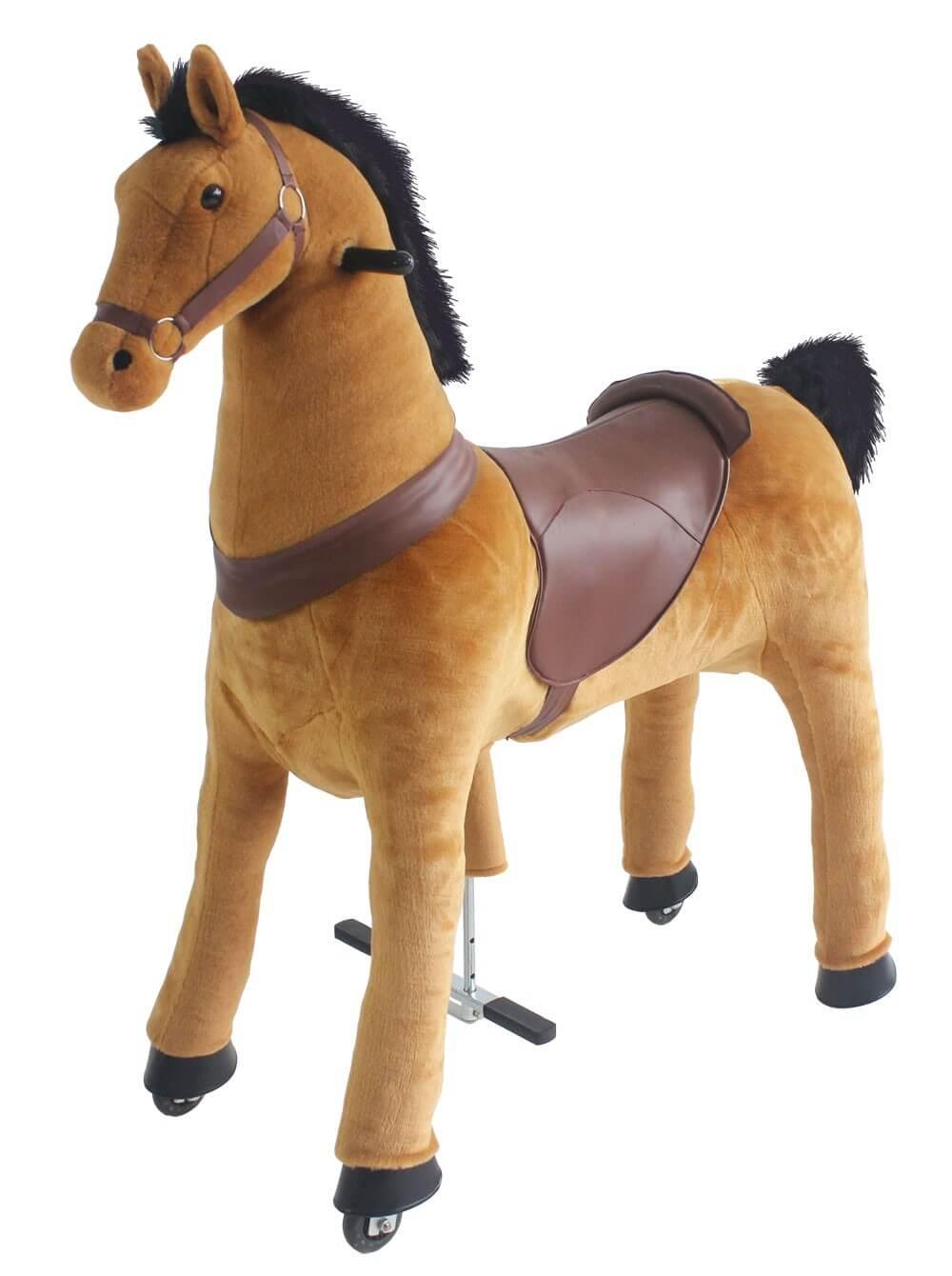 Läs mer om Hästen Buttercup. Höjd 100 cm.