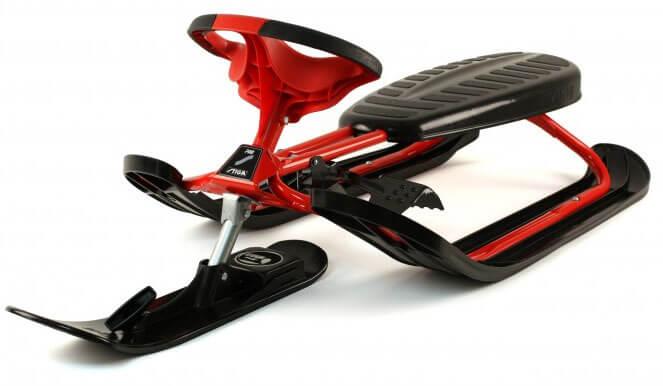 Läs mer om Snowracer Ultimate PRO Röd