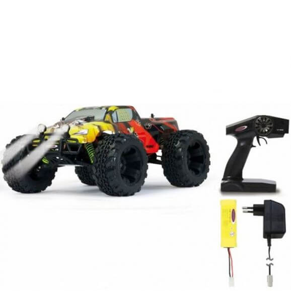 Radiostyrd Tiger Monstertruck 1:10 4WD NiMh LED lampor
