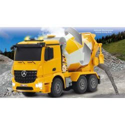 Radiostyrd Mercedes Arocs Cementbil 1:20 - 2,4 GHz