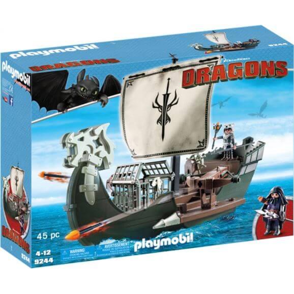 Playmobil Dragons 9244 Dragos skepp