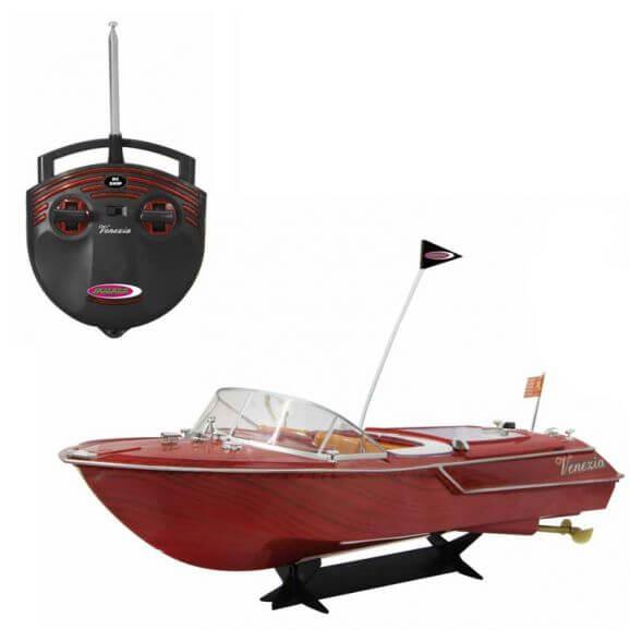 Radiostyrd Båt Venezia Venedig Jamara 5 km/h - 40 MHz