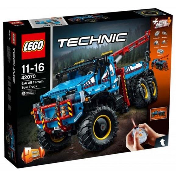 LEGO Technic Terränggående 6x6-bärgningsbil V29