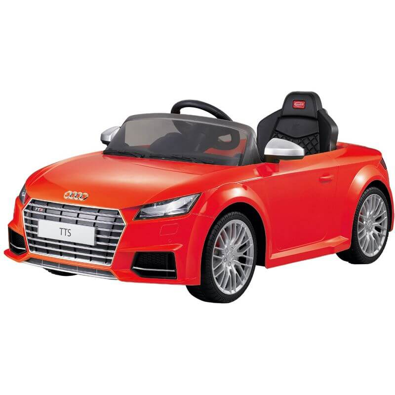 0449ce597fc Elbil barn Röd Audi TTS Roadster. Rastar 12 volt - Leksakscity.se