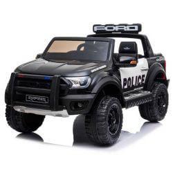 Polisbil Elbil Ford Ranger Raptor till barn 12 volt