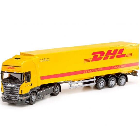 Scania lastbil DHL. EMEK 1:25
