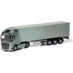 Volvo lastbil FH 750 Ljusgrön. EMEK 1:25