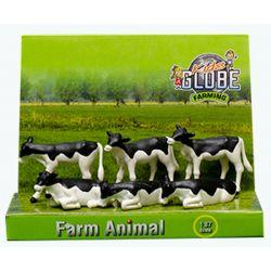 Kalvar av rasen Holstein Kids Globe 1:32