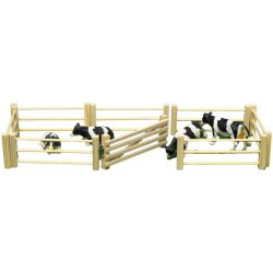 Kids Globe wooden fence 6 pcs 1:32