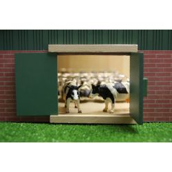 Kids Globe stable with farmershed 55x72x32 cm, 1:32