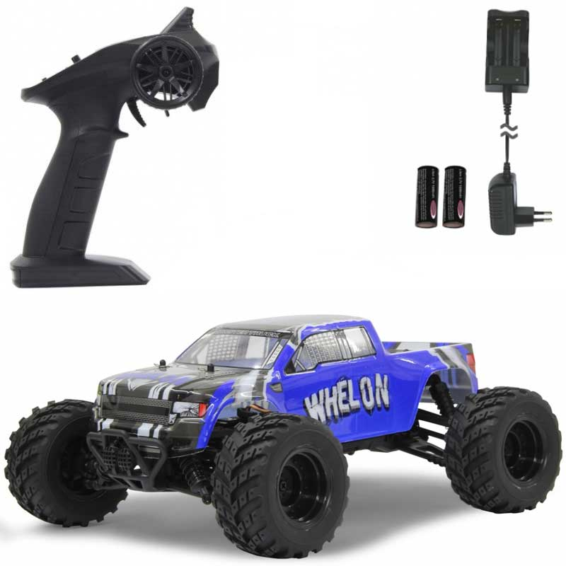 REA - Radiostyrd Bil Whelon Monstertruck Jamara Litium Jon 1:12 - 35 km/h - REA