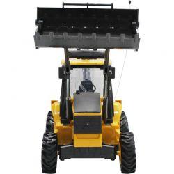 Radiostyrd Traktor Volvo Traktorgrävare NewRay 1:18