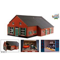Djurstall, bondgård för djur Schleich med gårdskontor. Kids Globe. 1:32