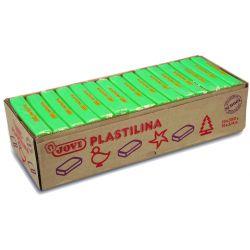 Plastilina Grön. 15 st. 350 gram.