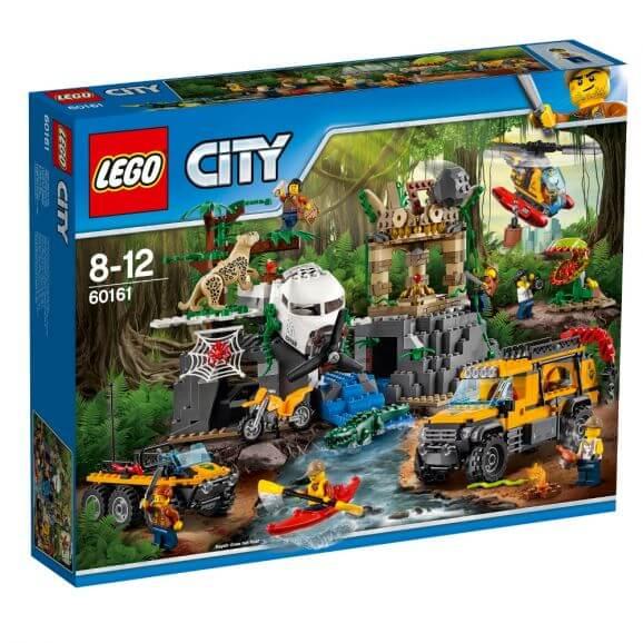 LEGO City 60161 Djungel forskningsplats